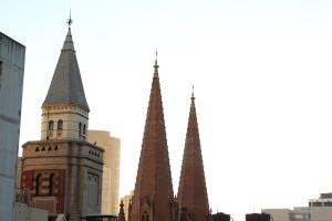 St. Paul's spires
