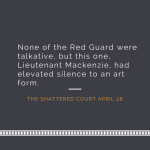 The Shattered Court snippet 1