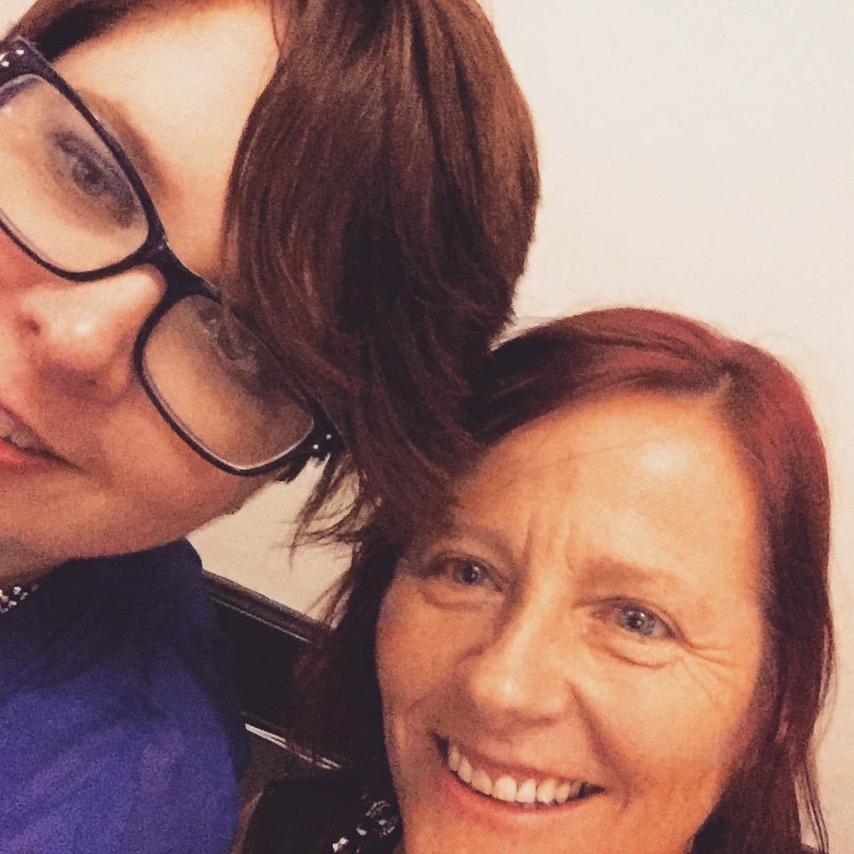 me and Keri Arthur