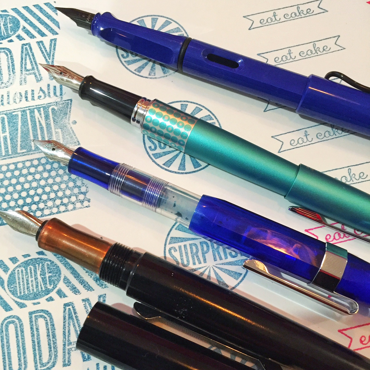 Friday favourites – fountain pens