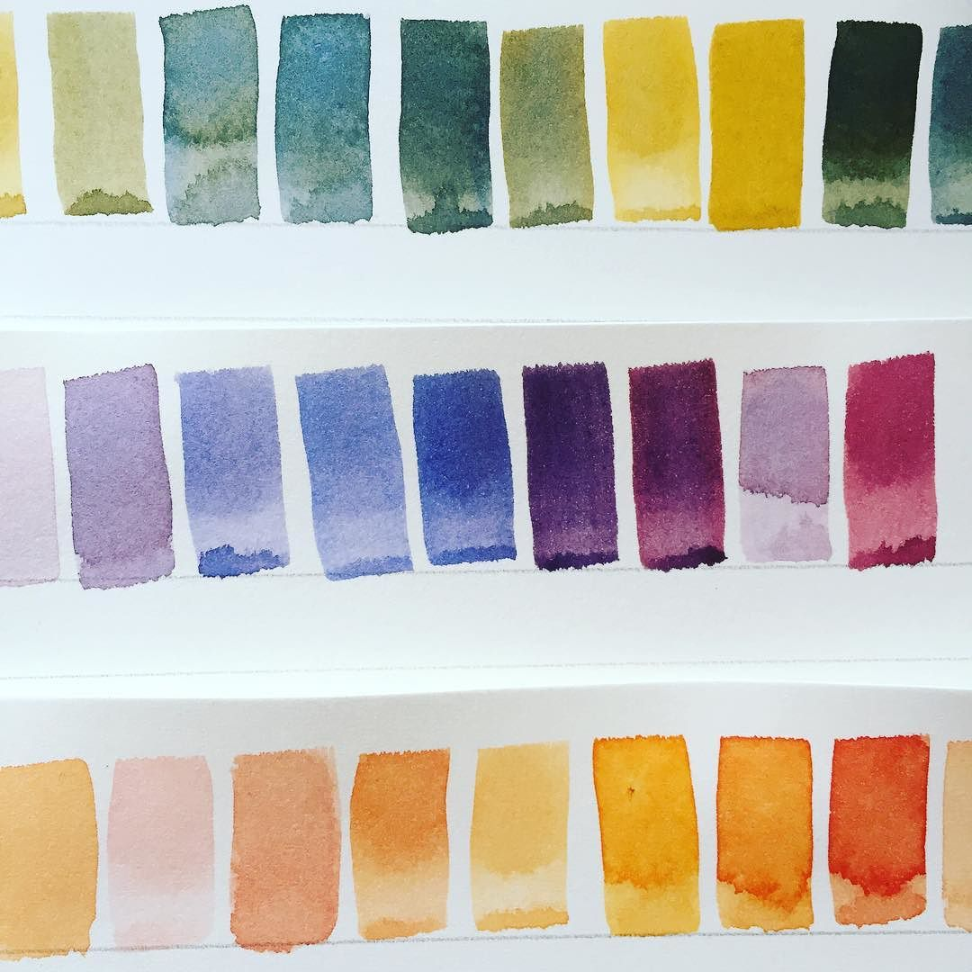 Watercolour love