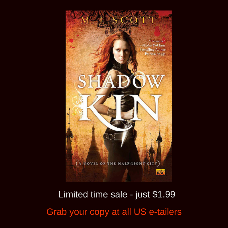 Shadow Kin is on sale for US readers!